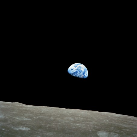Anders' Earthrise. This better resolution photo from Wikipedia.